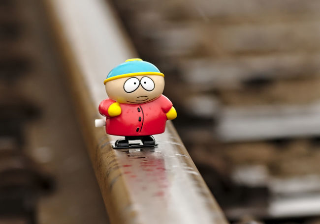 Best Friends Cartman Close-up Day Figurine  Focus On Foreground Iron Lonesome Metal Nikon No People Outdoor Photography Plastic Railway Raindrops Rainy Days Red Selective Focus Showcase April Southpark Still Life Teardrops Toy Toy Adventures