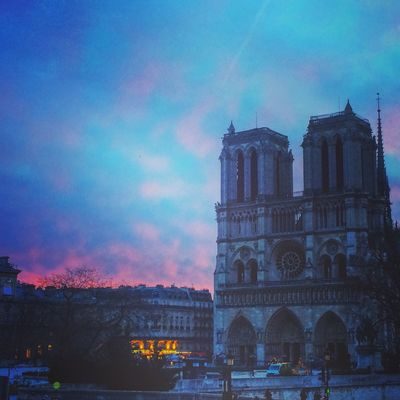 Paris Photography Lifestyle Notre-Dame Paris ❤ Sky And Clouds Rose🌹 Love Romantic Paris, France