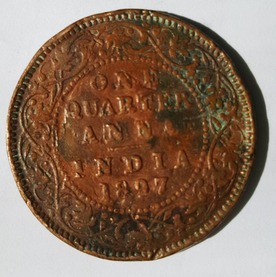 Coin Old Coin 1897 British India