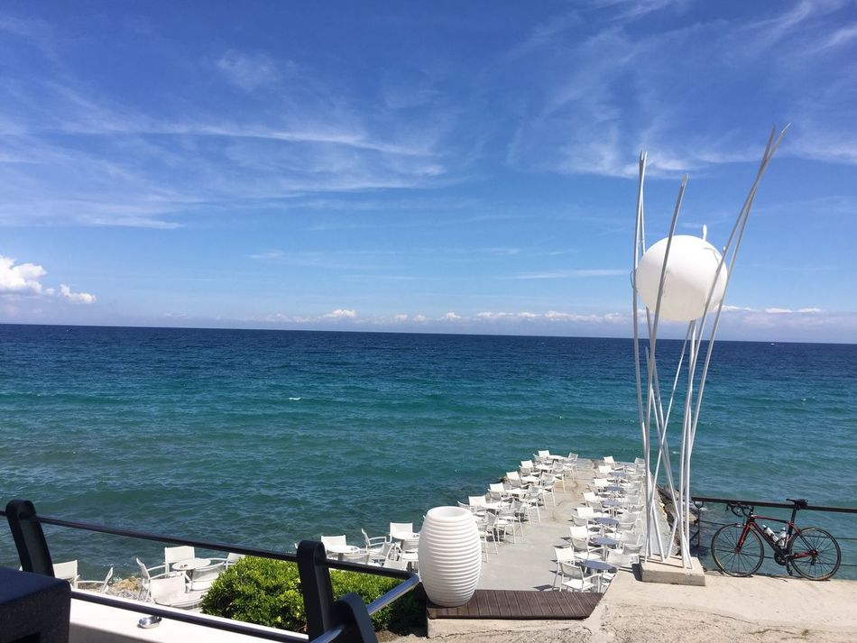 Just perfect place. Greece Platamonas Enjoying Life Sea And Sky The Great Outdoors - 2016 EyeEm Awards