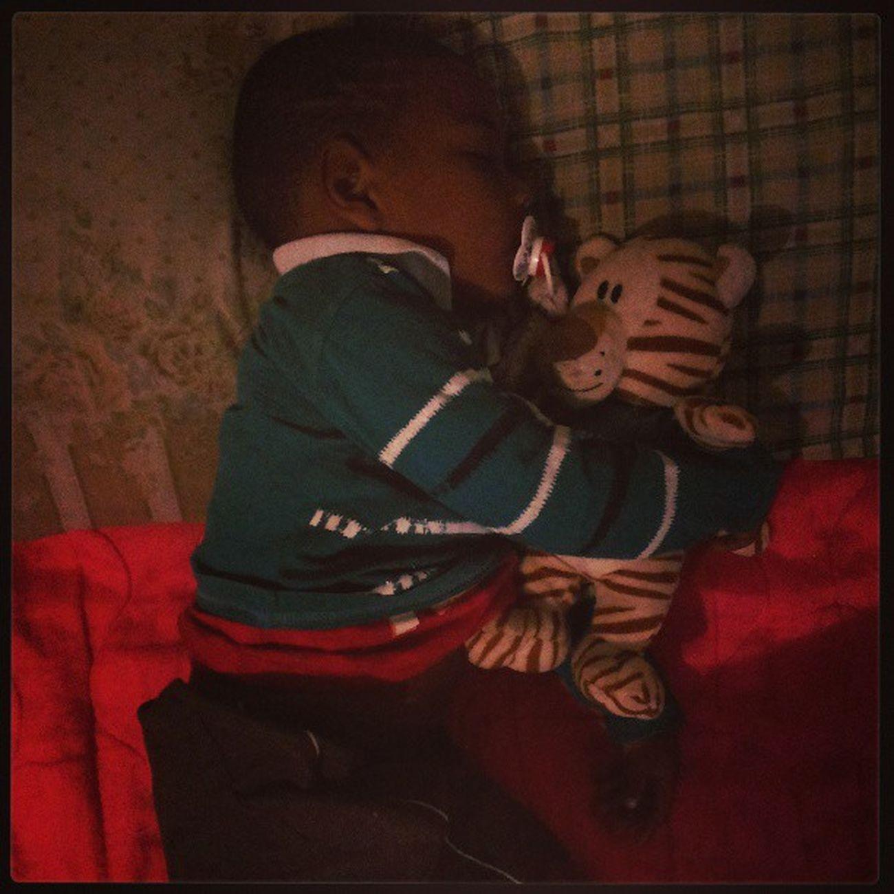 Tão bom ver ele dormindo *--* Bryan Irmão Bebe Sleep Soninho Instababy Instalike Instagood