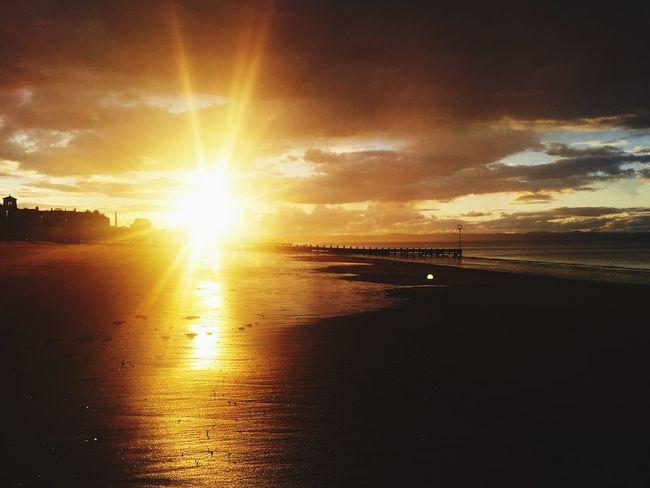 Found On The Roll Edinburgh Sunset #sun #clouds #skylovers #sky #nature #beautifulinnature #naturalbeauty #photography #landscape Portobello Beach, Edinburgh Eye Em Scotland Sunrise_sunsets_aroundworld Sunset EyeEm Best Edits