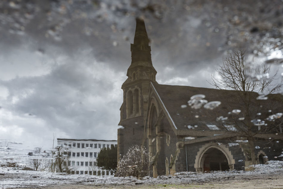 Architecture Built Structure Church Cloud - Sky Cold Temperature Day Nature No People Outdoors Reflection Sky Snow Snowing Travel Destinations Water Winter