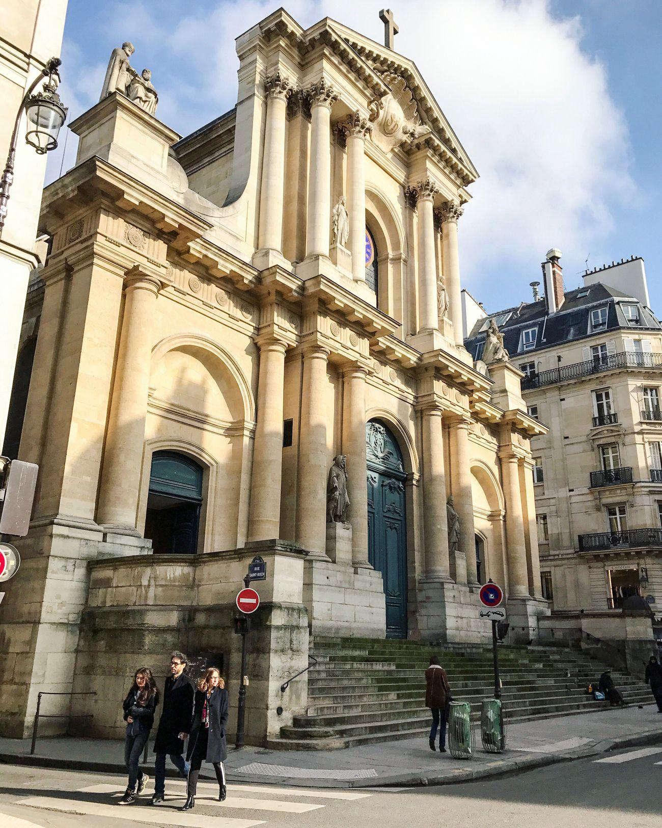 Bon dimanche! Happy Sunday Architecture Travel Destinations Parisweloveyou Paris EyeEm Best Shots Place Of Worship Photooftheday Eyem Best Shot - Architecture Paris ❤