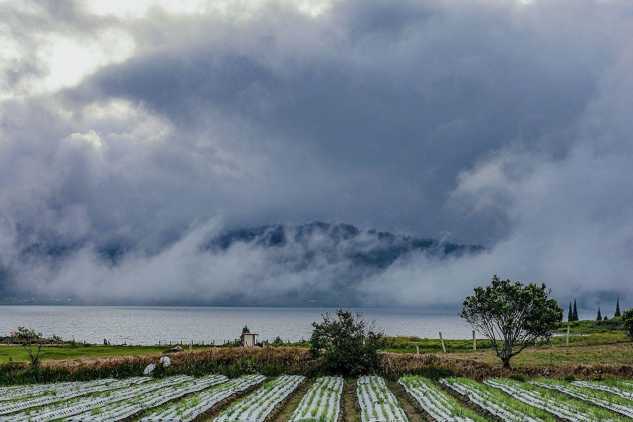 Danau Diatas of the twin lake of West Sumatera, Indonesia. Lake Clouds Nature Landscape Photography Wonderfulindonesia