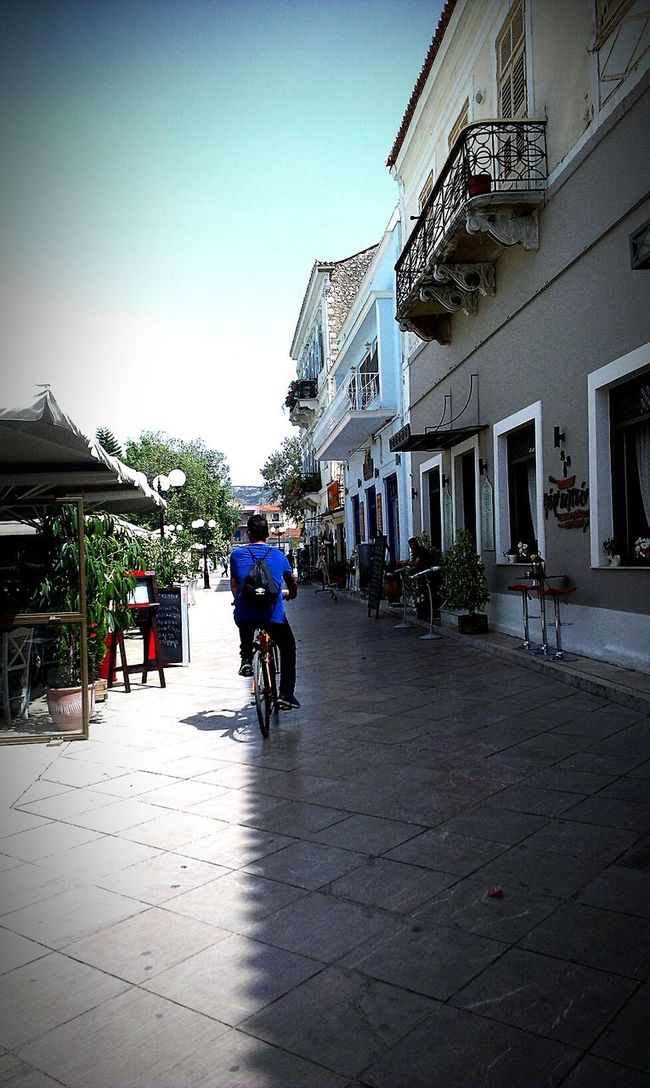 Bicycle Biker Town Urban Urban Beauty Urban Lifestyle Explore Nafplio Cafe Street Street Photography Buildingstyles EyeEm Gallery