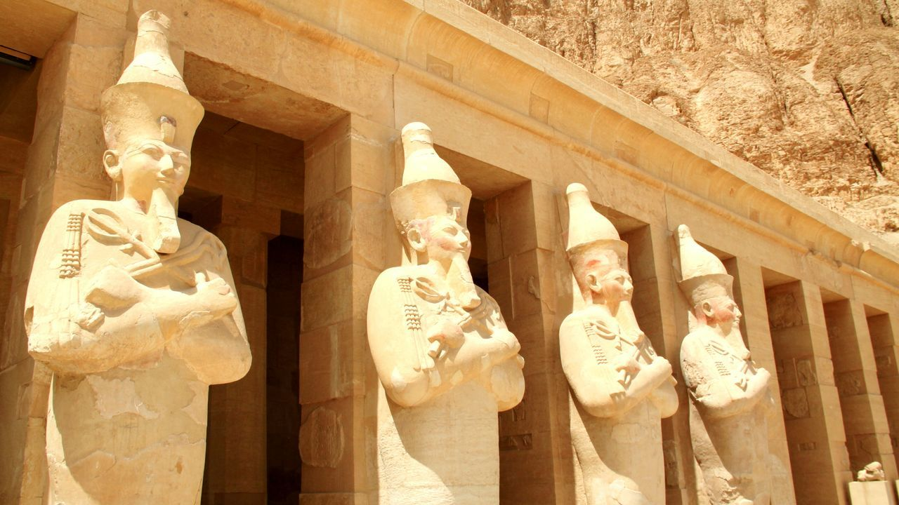 Temple Of Hatshepsut Egypt Pharaoh Historical Monuments