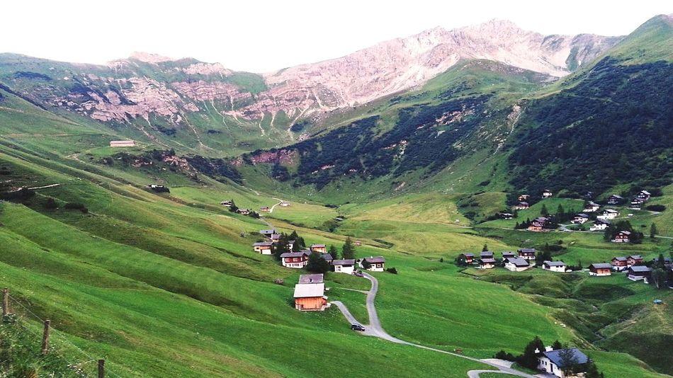 The Essence Of Summer Alps Liechtenstein Malbun Mountain View Alm Alpenpanorama