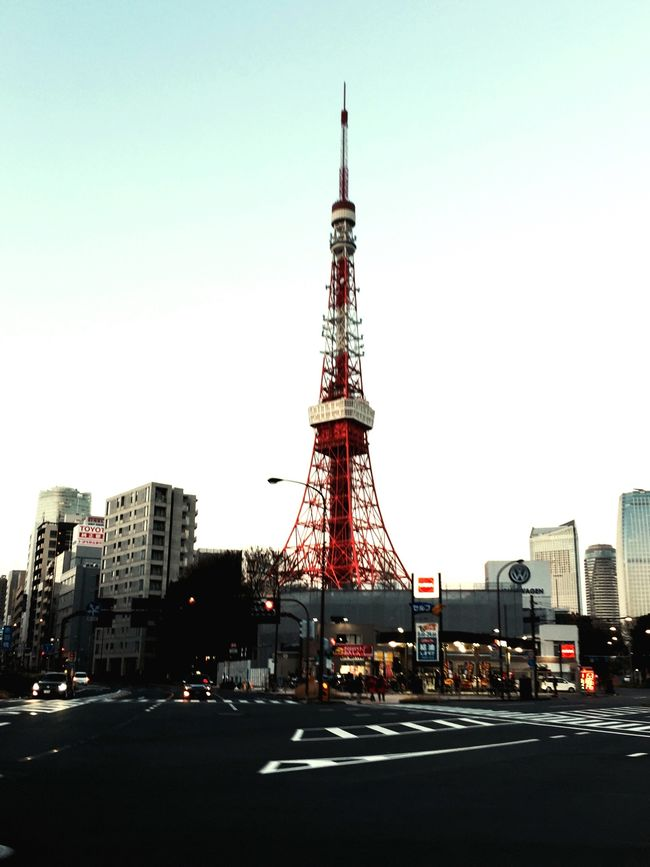 Sunset Sightseeing Tokyo Tower