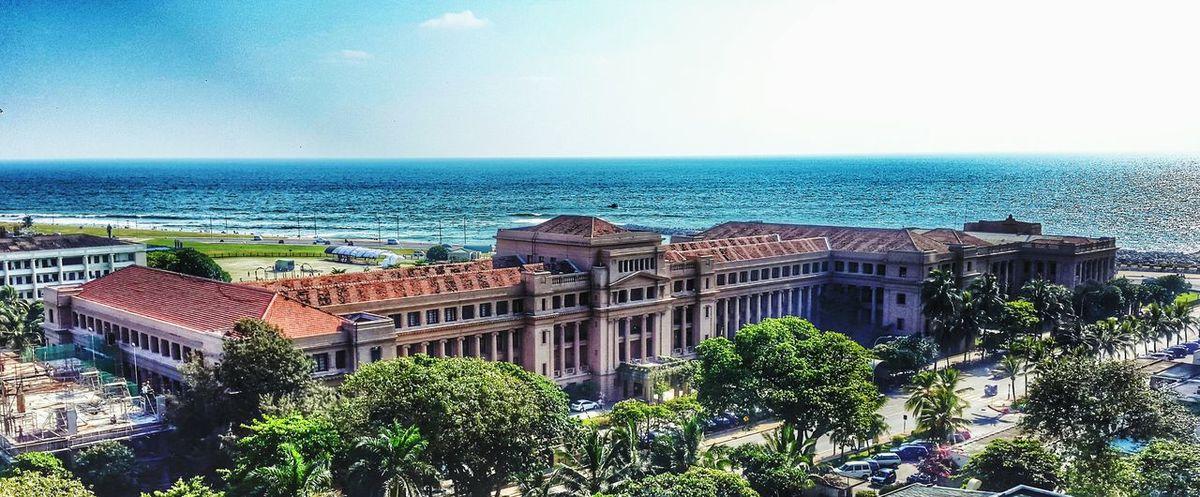 Architecture Holidays Places Beach Colombo Ocean Hilton Travel Landscape The Traveler - 2015 EyeEm Awards