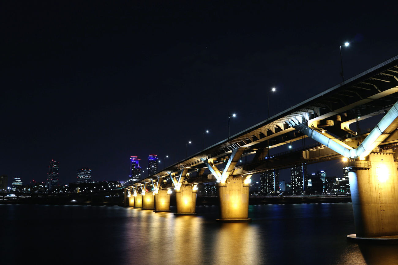 어차피 늦은 시간이기에. Art Is Portable With A Caseable Han River