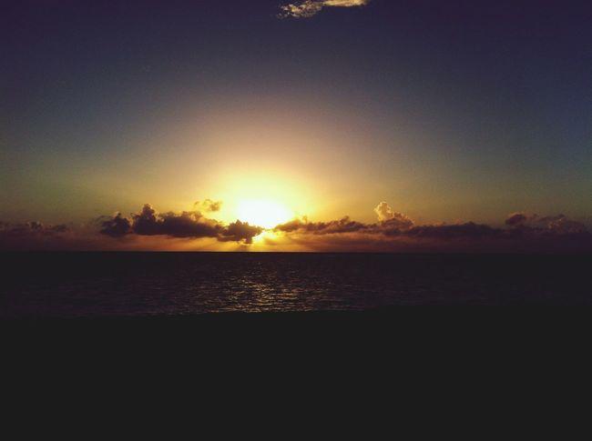 Sunrise Beach Enjoying The Sun