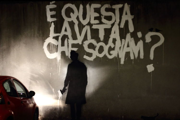 """Is that the life you're dreaming?"". Via Lucatello, Padova. Art Artist ArtWork Beautiful Dream Graffiti Kenny Random Life Street Street Art Streetart Streetphotography Suburban Underground Vita Che Sognavi Here Belongs To Me"