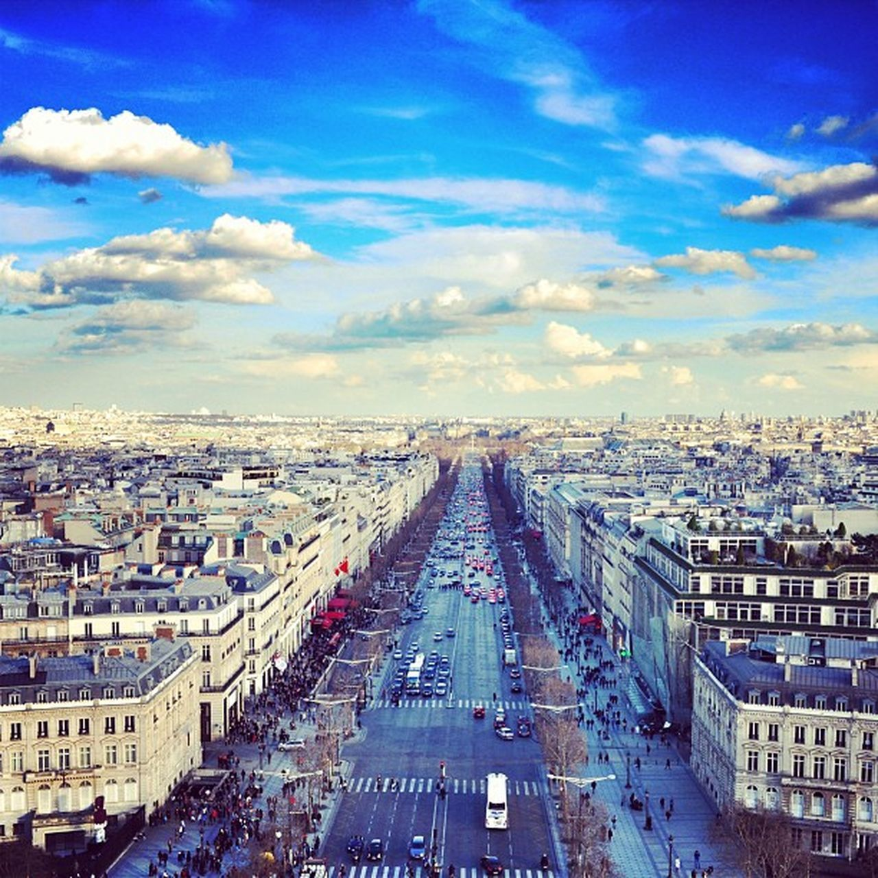 From the top | Champselysées