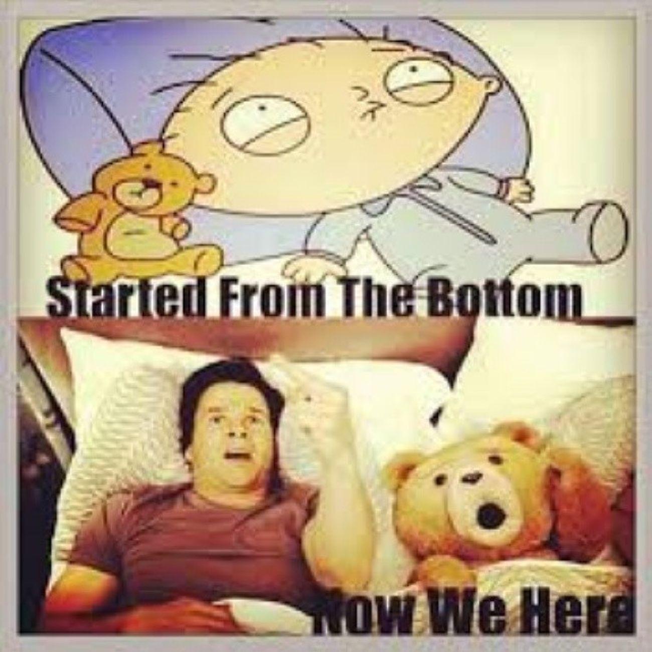 Stewie Rupert Ted Thunderbuddies StartedFromTheBottom