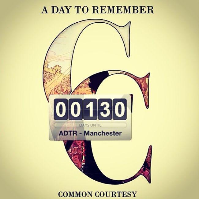 Well worth the wait :) ADayToRemember CommonCourtesy ADTR 130days manchester @neilwestfall44 @therealjeremymckinnon @joshuawoodard @whereisadtr