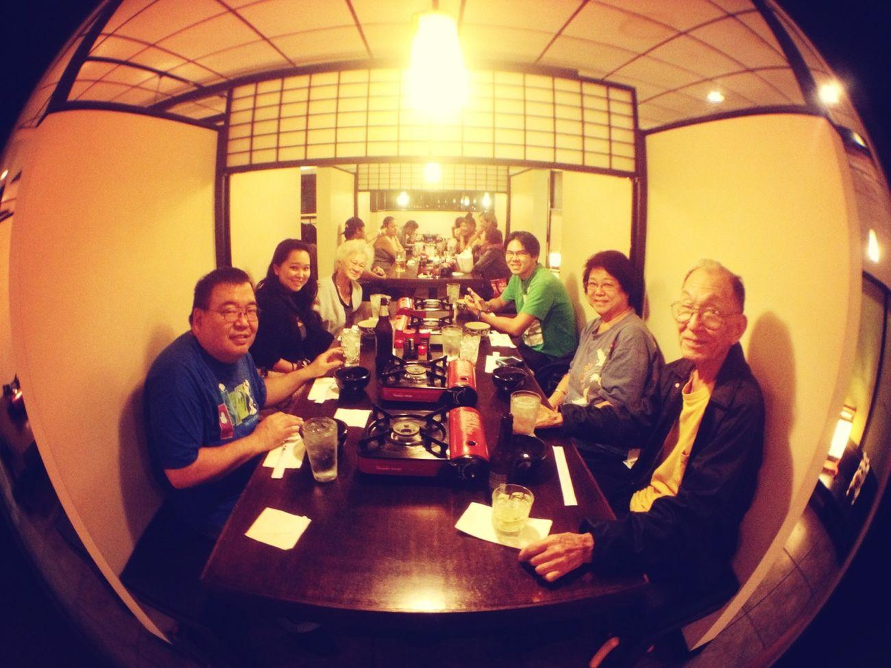 last family dinner of 2012. ❤