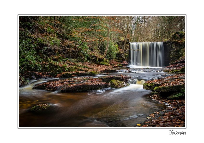 Nant Mill falls Waterfall Motion Water Nature Forest Long Exposure Beauty In Nature