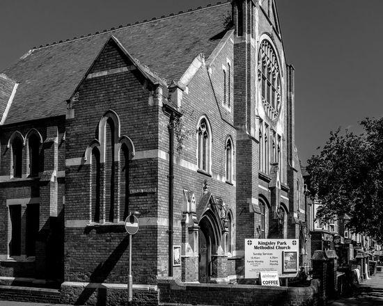 Kingsley Park Methodist Church, Kettering Road, Northampton Northampton Black And White Chuches Architecture