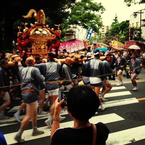 Omikoshi Introducing Culture Of Japan Which Must Be Left To The Future…… 未来に残す日本の文化