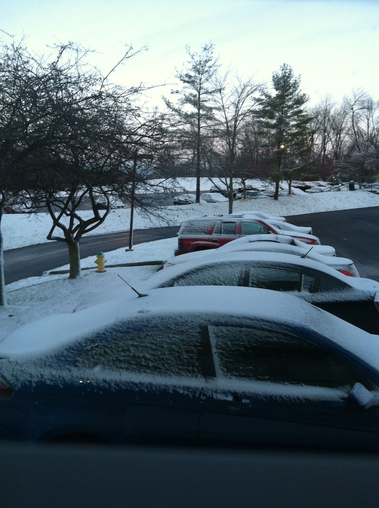 Nooooo it snowed I wasn't ready!!!!!!!! Hatesnow
