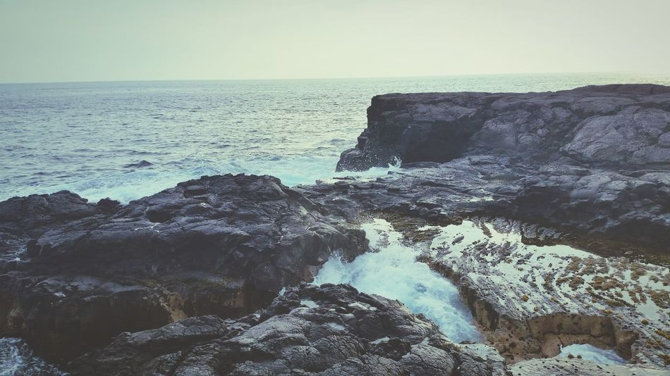 Hawaii Life Is A Beach Napo'opo'o Ocean View Waves Lava Rock
