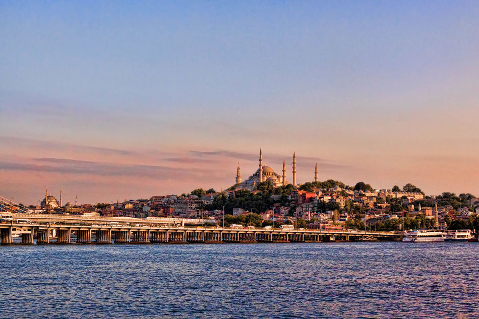 Golden Horn Ancient, Architecture, Autumn, Bank, Beautiful, Beauty, Blue, Boat, Bosphorus, Bridge, Building, City, Cityscape, Cloud, Day, Dome, East, Europe, Galata, Golden, Horn, Istanbul, Landmark, Landscape, Metal, Metro, Minaret, Mosque, Night, Old, Outdoor, Pano Architecture Beauty In Nature Blue Bridge, Viaduct, Overpass, Fixed Link, Aqueduct, Join, Link, Connect, Unite; Straddle; Overcome, Reconcile Built Structure Cloud Cloud - Sky Day Nature No People Outdoors Rippled Scenics Sky Sunset Tourism Tranquil Scene Tranquility Travel Destinations Turkey, Istanbul, Golden Horn, Water, Vista, View, Bridge, Eyup, Bosphorous, Water Waterfront
