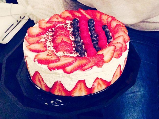 Charlotte aux fraises !!!