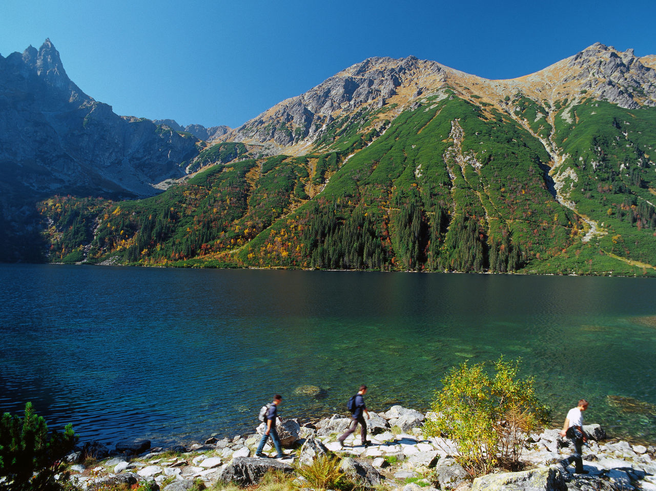 Autumn Beauty In Nature Lake Landscape Morskie Oko Morskie Oko Morskieoko Mountain Mountain Lake Mountain Landscape Mountain Range Mountains Nature Outdoors People Scenics Tatry Tatrymountains Tourism Tourist Travel Destinations Water