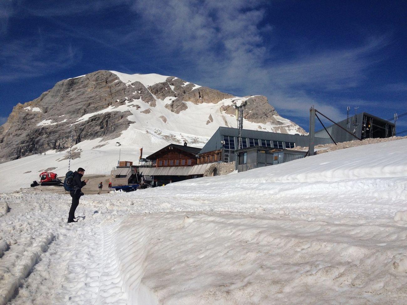 Letzte Station vor der Zugspitze!