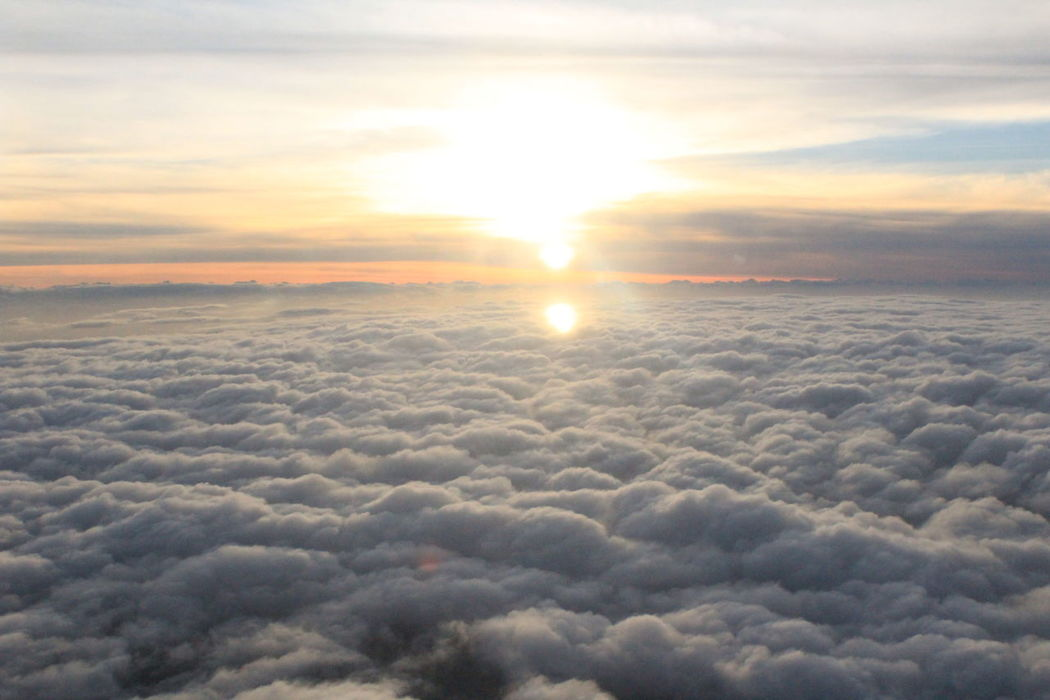 Sunrise_Collection Good Morning Sunset #sun #clouds #skylovers #sky #nature #beautifulinnature #naturalbeauty #photography #landscape Lights Sculpture Above The Clouds Abovetheworld