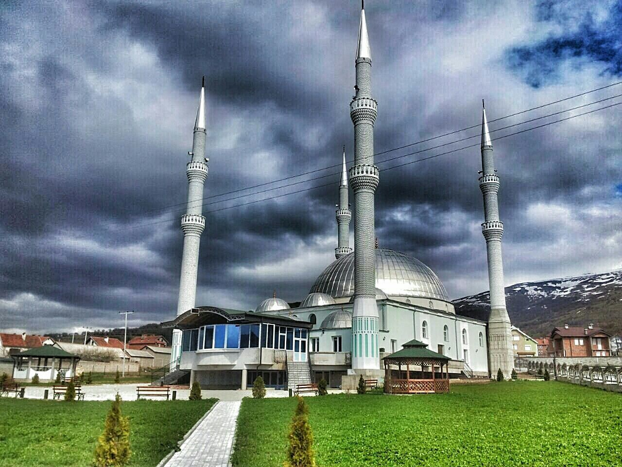Edge Of The World Mosque The Biggest Mosque In Balkan Kosovo Muslim Architecture Allah Is The Almighty Miracle Trust In God Mercy From Allah Seeing The Sights My Best Photo 2015