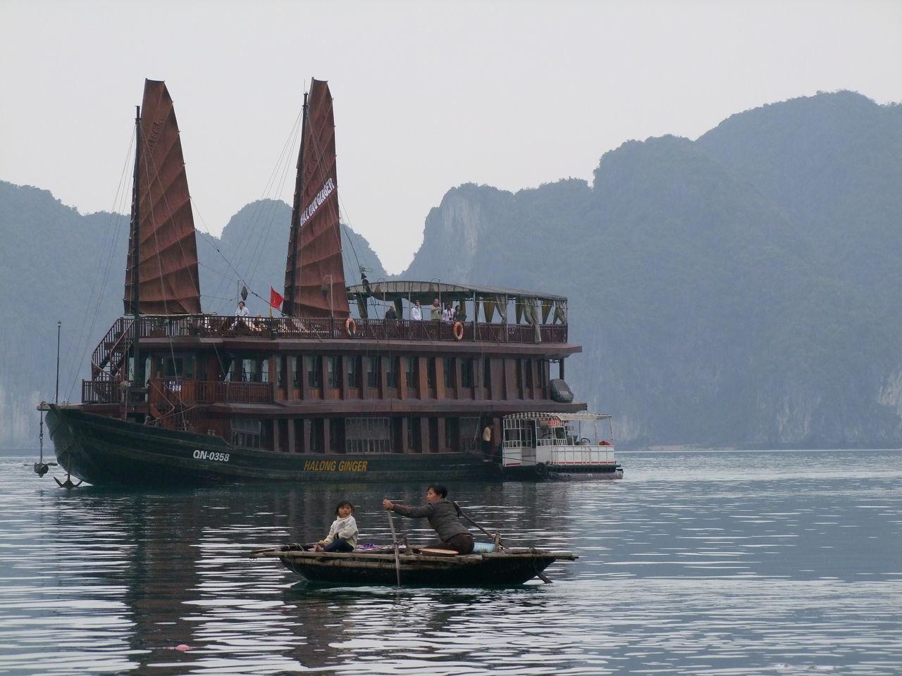 Beautiful stock photos of vietnam, mode of transport, transportation, nautical vessel, water