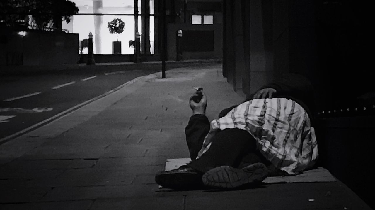 www.justgiving.com/crowdfunding/ourhomeless - Help Our Homeless Help Our Homeless People Help Helping Helping Others Charity Street One Person Real People One Man Only City Outdoors People Only Men Night Adults Only Adult Homeless Homelessness  Smoking When None Of This Really Matters