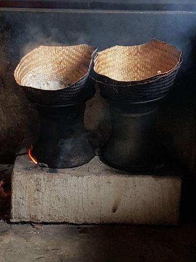 Alat Masak Nasi Tradisional asli Indonesia No People Indoors  Day Close-up
