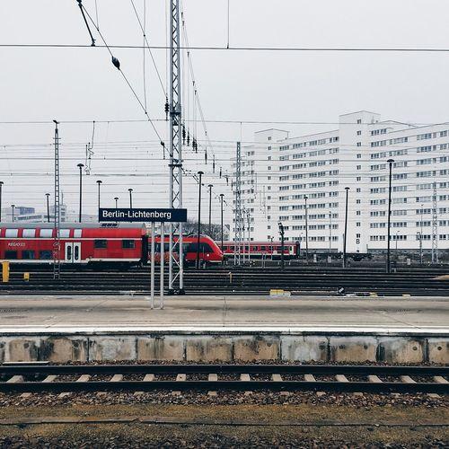 Public Transportation Train Station Berlin
