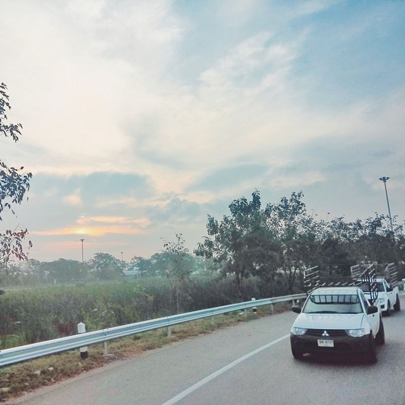 OTW 2 Kanchanaburi Vscocam Snapseed Pirab13 Jrcru sunrise