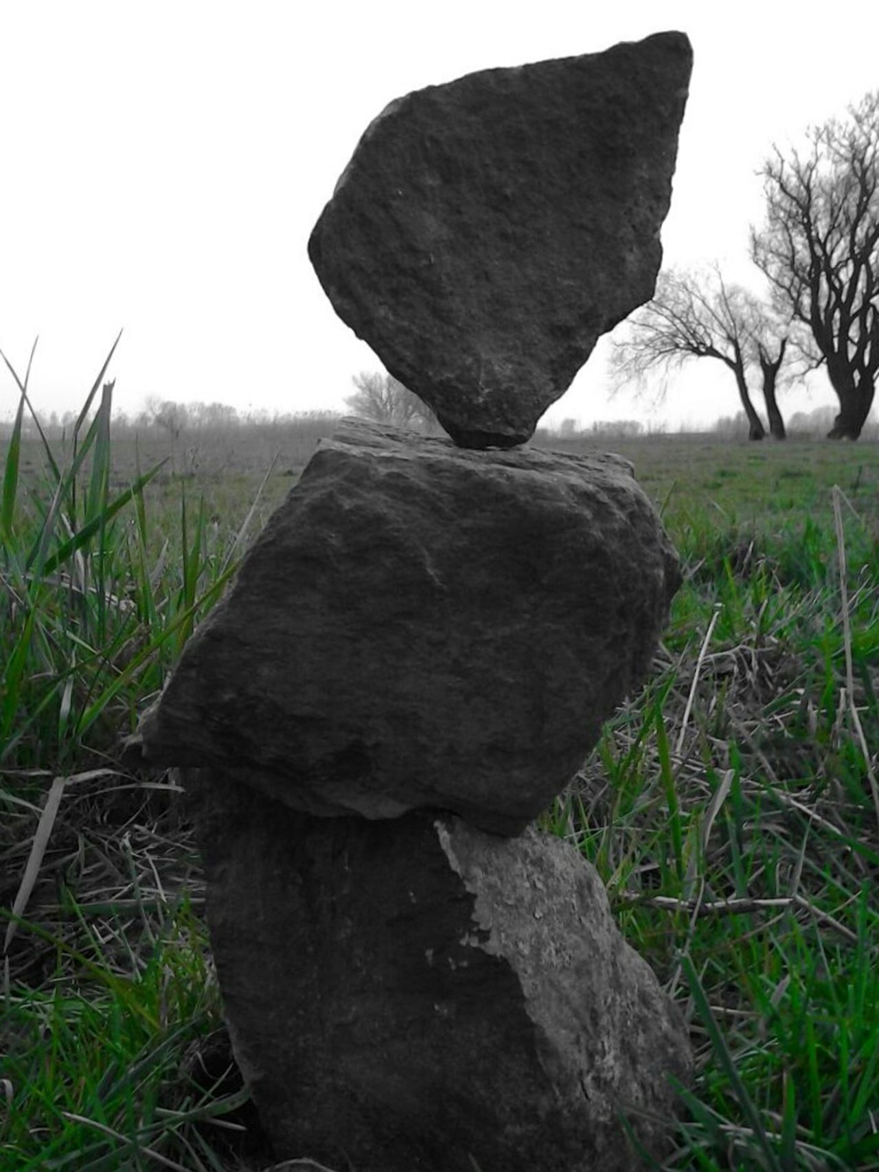 Balancing Act Delicately Placed Stones In A Delicate World My Artwork