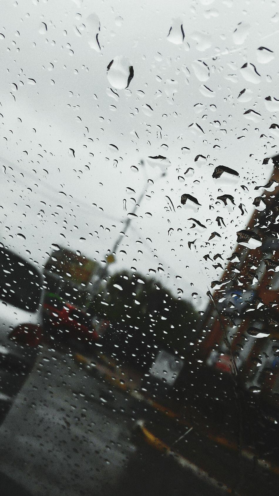 дощ окно Машины печальтоска Дорога