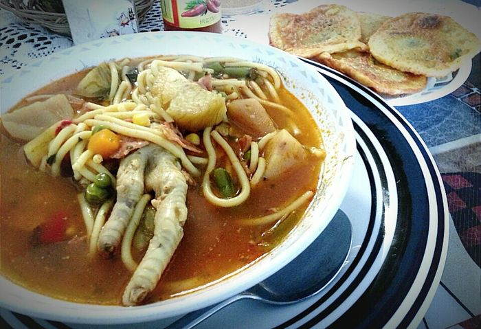 Soup Of The Day Chicken Feet Soup Bowl Soup Ethnic Food Food Food Photography Food Around The World Lets Eat
