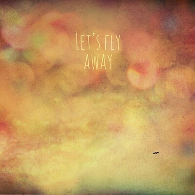 Hey You....Yeah You!!! Let's Please Fly Away Flyaway Art