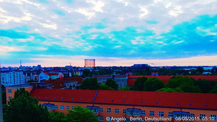 Penthouse View now _ My Berlin  Weekend Enjoying The Sun Spring Frühling EyeEm Best Shots Gasometer Berlin Schöneberg Instaberlin