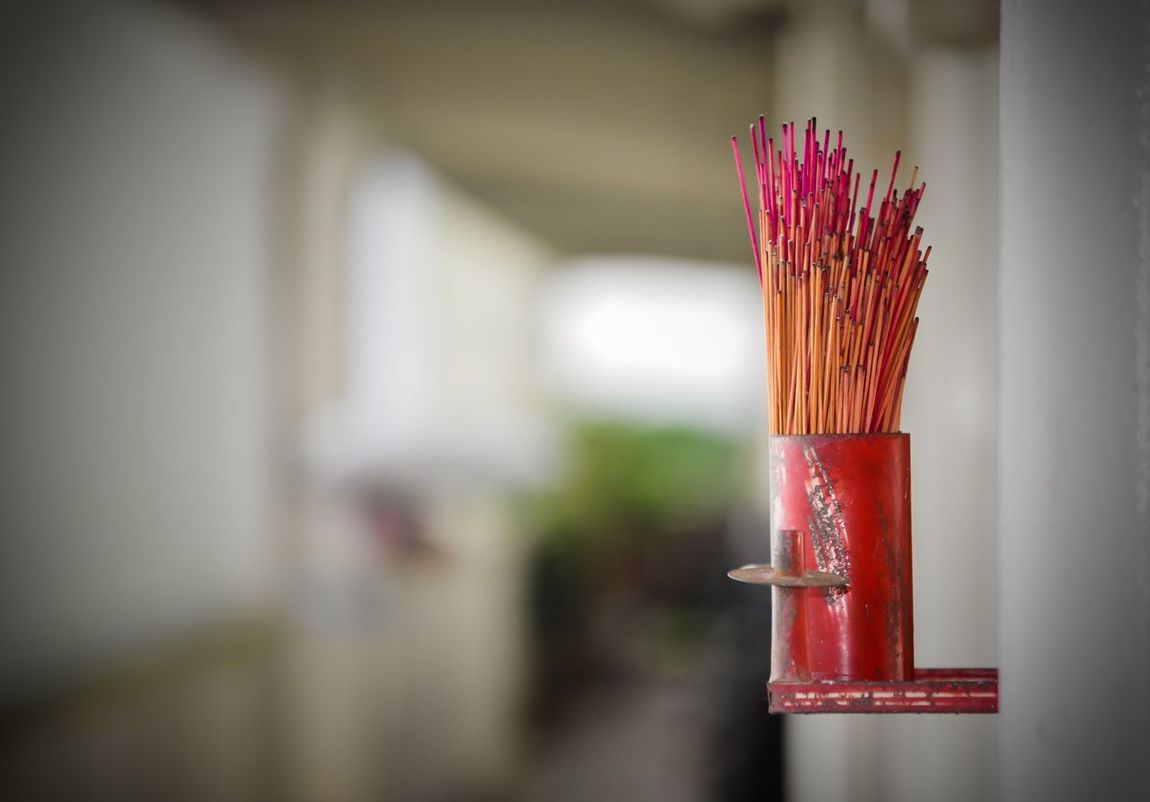 Incense Incense Sticks Red Close-up Incense Burner Incenseholder Chinese New Year No People CNY2017 Lunar New Year Lunar New Year 2017