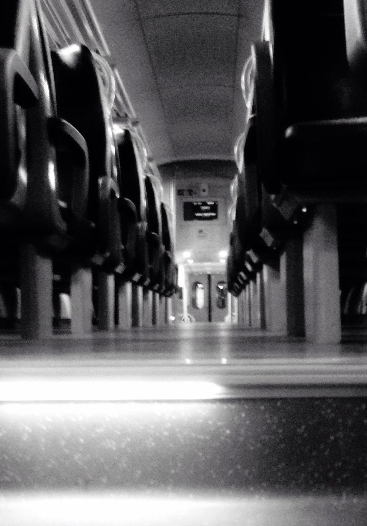 Transportation Illuminated Public Transportation Vehicle Interior Lighting Equipment Rail Transportation Monochrome Photography Eyeemphotography No People From My Point Of View Young Adult Adults Only Adult Indoors  Light And Shadow Black And White Blackandwhite Photography EyeEm Best Shots Momochrome Photography Blackandwhite