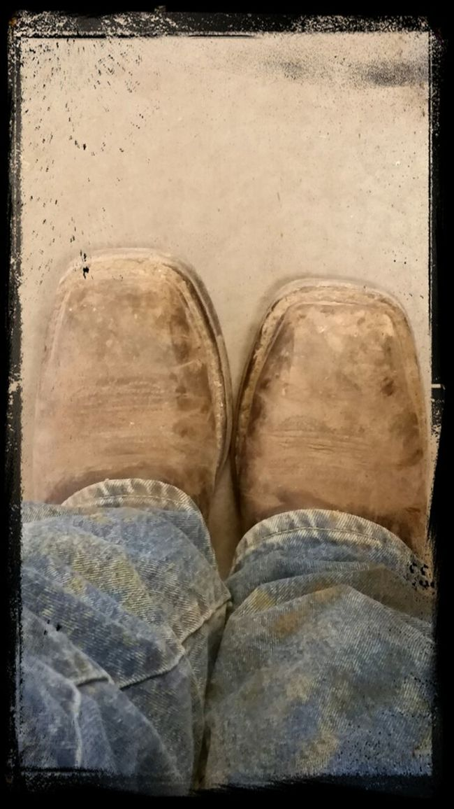 Hard Working Boots! !!