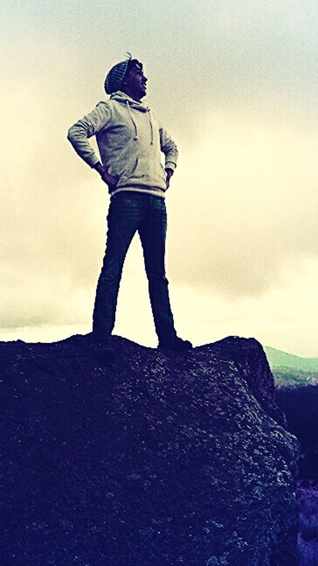 At the top Hello World Happiness Escaping That's Me