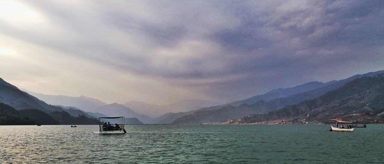 Pokhara Fewalake Nepal Lakesde