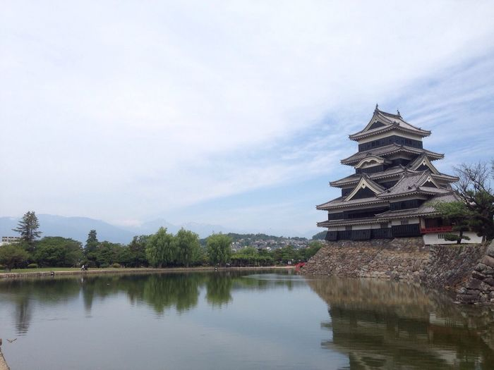 松本城 Matsumoto Castle Japanese Castle Moat お堀