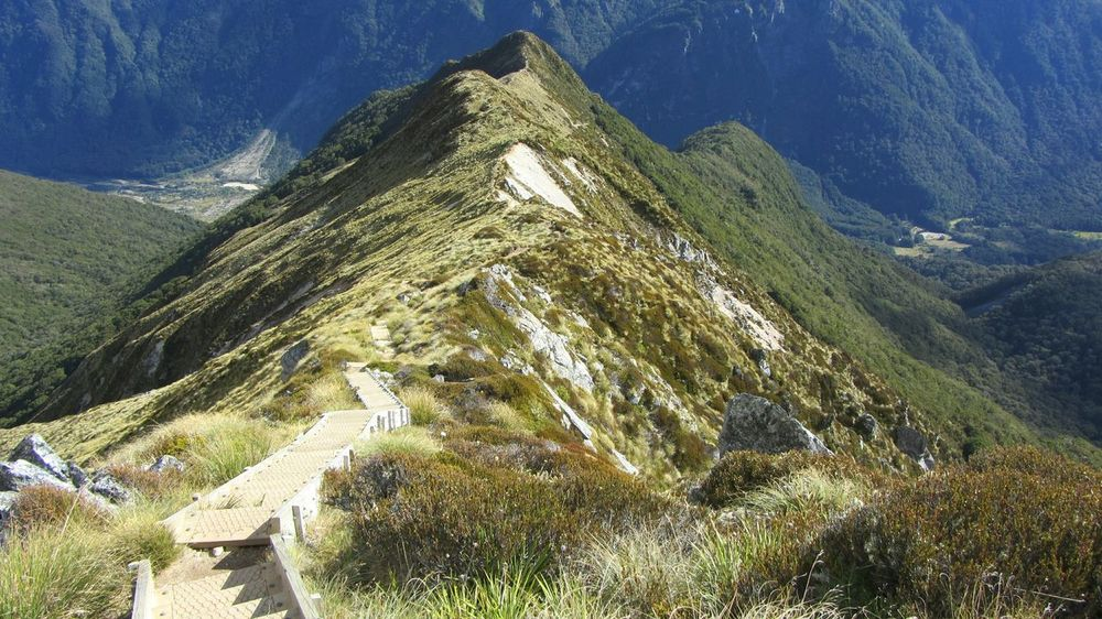 The Journey Is The Reward, near Te Anau in feb 2012. kepler track, New Zealand Beauty in New Zealand . In Contact With Nature , Stunning View , Beautiful Nature