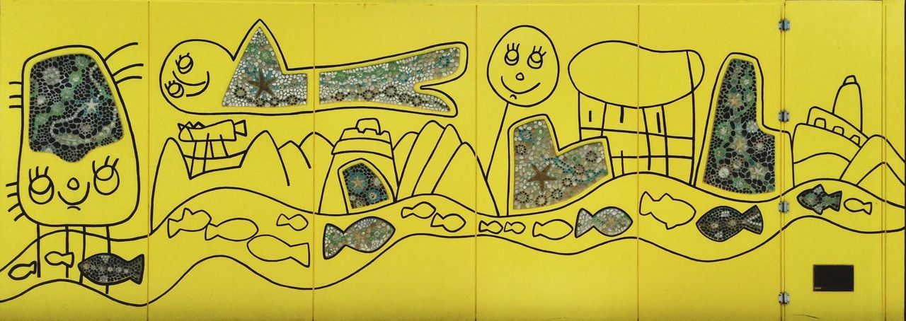Sketch Drawing - Art Product Scribble No People Astrology Sign Taking Photos Check This Out Sreetphotography Textures And Surfaces Outdoors From My Point Of View Yellow Lines And Shapes